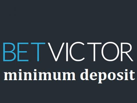Betvictor minimum deposit