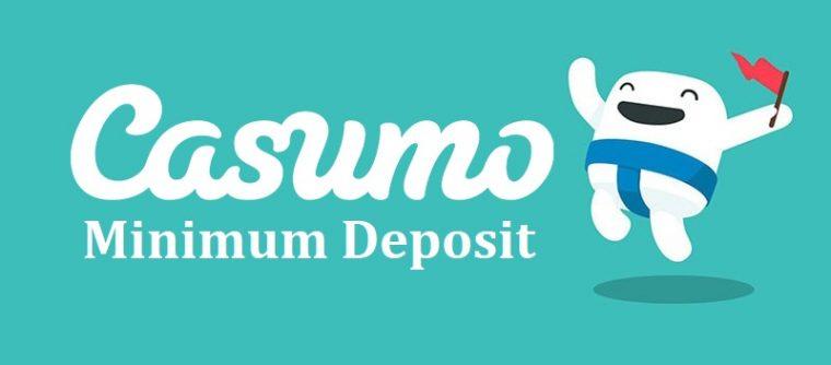 Casumo minimum deposit