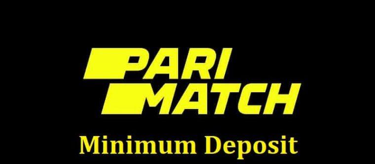 Parimatch minimum deposit