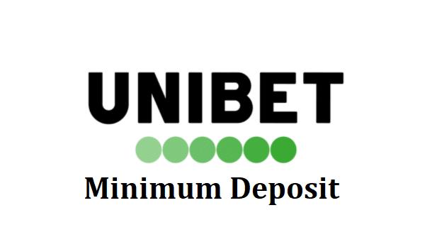 Unibet minimum deposit