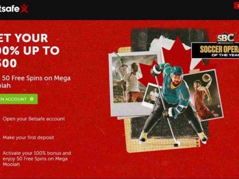 Betsafe Canada Welcome Bonus