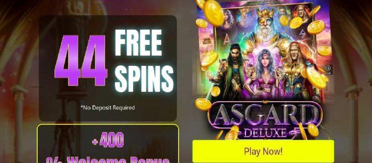 Slots Plus Casino Asgard Deluxe bonus
