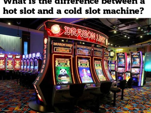 What is the difference between a hot slot and a cold slot machine?