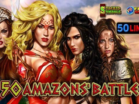 50 Amazons' Battle EGT slot game